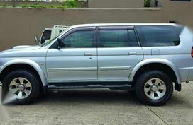 2006 Mitsubishi Montero Sport AT Silver For Sale