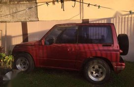 Suzuki Escudo Red SUV For Sale