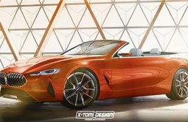 BMW 8-Series looks stunning in convertible shape