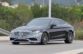 Facelifted 2018 Mercedes-AMG C63 spied in all it might