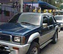 Mitsubishi Strada 4x4 Blue MT For Sale