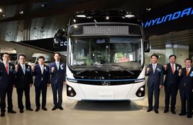 Around 170 mega vehicles at Hyundai's motor show
