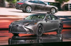 Next-generation Lexus LS 350 unveiled in China