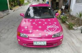 Honda ESI 1994 Vtec AT Pink For Sale