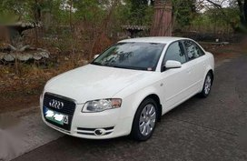 Audi A4 White 2007 Automatic For Sale