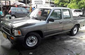 Toyota Hilux 1994 Gray Manual For Sale