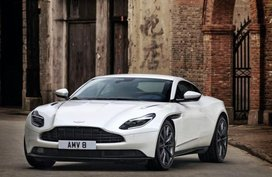 Aston Martin DB11 V8 unveiled with 503bhp AMG powertrain