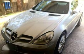 Mercedes Benz SLK 350 AT 2005 Silver