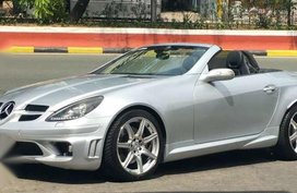 Mercedes Benz Slk 350 2005 Silver For Sale