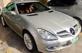 Mercedes Benz SLK 350 Silver AT 2005