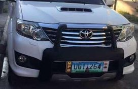 Toyota fortuner 2012 model top of the line 4x4