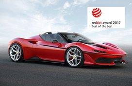 Ferrari wins Red Dot Design Awards again in 2017