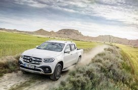 Mercedes X-Class pick-up truck officially kicked off