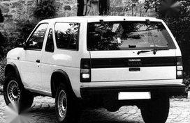 Nissan Terrano 2002 MT White For Sale