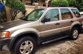 2002 Ford Escape 2.0 MT Beige For Sale