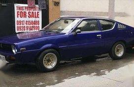 1977 Mitsubishi Celeste 4G62B Blue MT