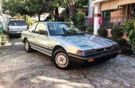 1983 Honda Prelude MT Silver Coupe For Sale