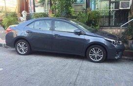 Toyota Corolla 2014 Gasoline Automatic Grey