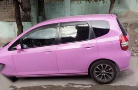 Fresh Honda Fit 2003 Pink AT 1.3L For Sale