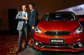 Mitsubishi PH to start local production of Mirage hatchback