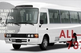 Call Now: 09258331924 Casa Sales 2019 Toyota Coaster!!! BRAND NEW!!! ALL IN PROMO SALE
