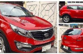 Fresh Kia Sportage 2016 AT Red For Sale
