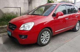 Kia Carens 2010 AT Red SUV For Sale