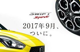 Admire more images of the Suzuki Swift Sport forward of Frankfurt