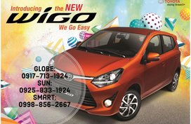 Call Now: 09258331924 Casa Sales 2019 Toyota New Wigo BRAND NEW for sale