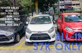 37k ALL IN LOWEST Net DP Toyota Wigo Call Now: 09258331924 Casa Sales 2019 Brand New!!!