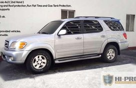 2001 Toyota Sequoia 4x2 AT Silver For Sale