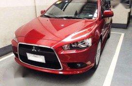lancer Mitsubishi2015 red matic-