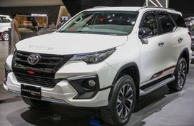 Toyota Fortuner TRD Sportivo premiered at GIIAS 2017