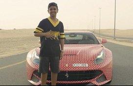 [Video] Take a peek at Ferrari F12Berlinetta of a Dubai child