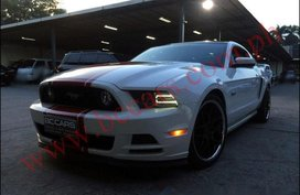 2014 Ford Mustang white coup for sale