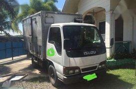 Isuzu elf aluminum Van fresh for sale