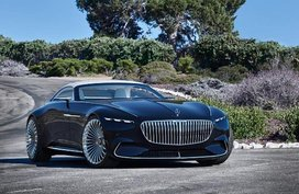Quick look at the Mercedes-Maybach Vision 6 Cabriolet