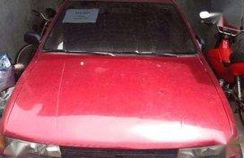 Mitsubishi Lancer sedan red for sale