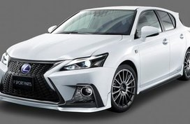 2018 Lexus CT 200h looks more aggressive in TRD body kit