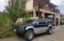 Mitsubishi Strada 1998 Diesel Manual Blue for sale
