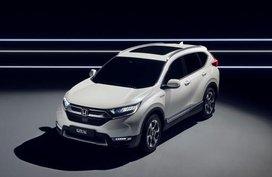 2018 Honda CR-V Hybrid prototype to be unveiled at Frankfurt