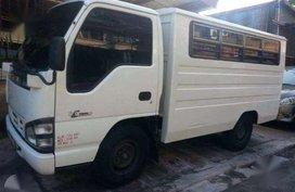 2007 ISUZU Truck NHR 2.8 MT White For Sale