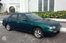 Nissan Altima 1996 Bluebird Green For Sale