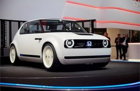 Honda Urban EV Concept: A retro-futuristic vehicle