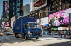 First all-electric truck - Fuso eCanter to be sold in US
