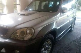 Hyundai Terracan AT Silver SUV For Sale