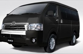320k Net Cashout Call Now: 09258331924 Casa Sales 2019 Toyota HIACE SG Leather AT ALL IN Sale