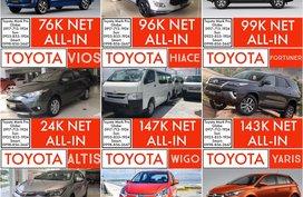 108k Net Cashout Toyota Call Now: 09258331924 Casa Sales 2019