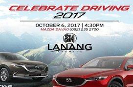 """Mazda Davao to launch the Mazda CX-5 & CX-9 at """"Celebrate Driving"""" event"""