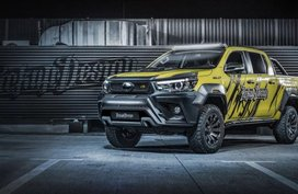 Toyota Hilux 2018 becomes a luxury pickup redesigned by Carlex